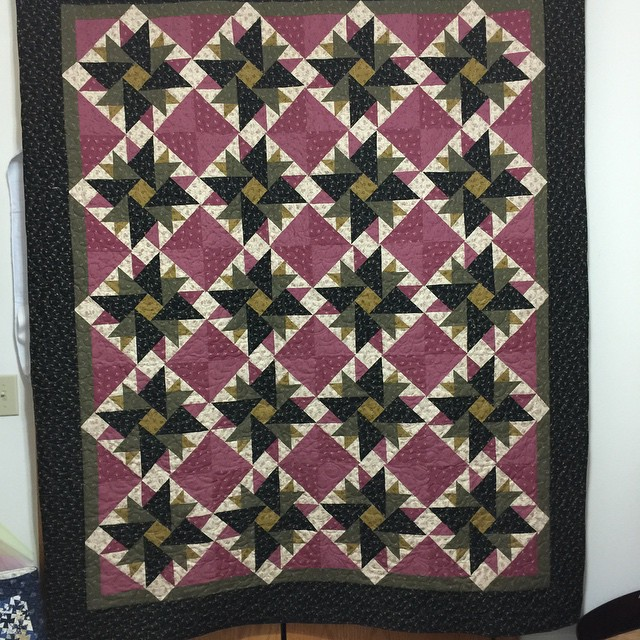 Finished and ready to go.  #quilt #quilting