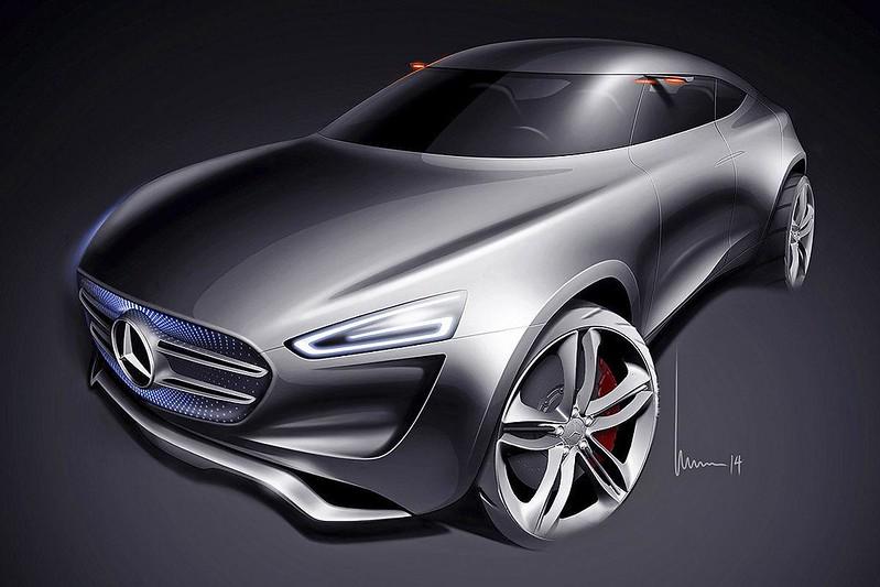 Скетч Mercedes-Benz G-Code 2014 года