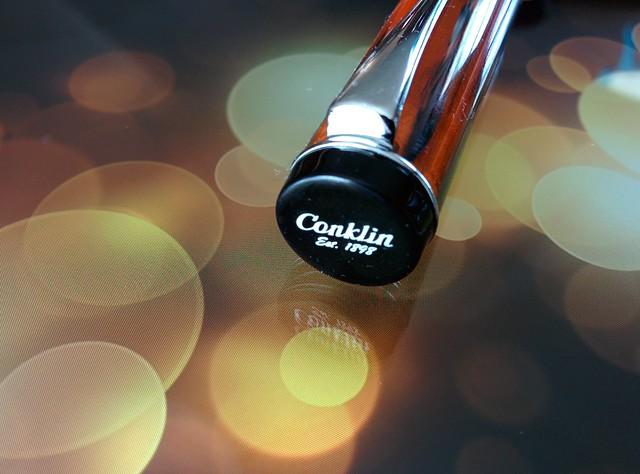 Cap Finial with  Conklin Branding