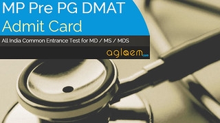 MP Pre PG DMAT Admit Card