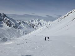 Zwei Schneeschuhwanderer