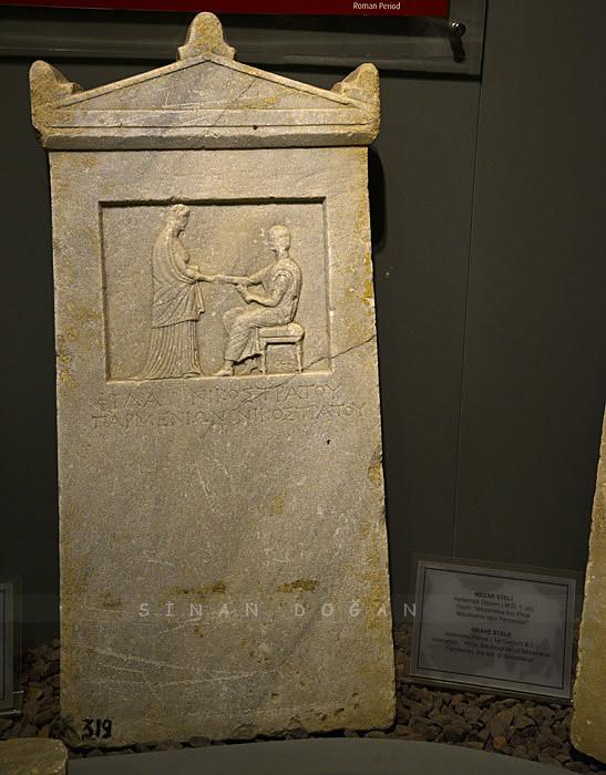 Helenistik Dönemi Mezar Steli