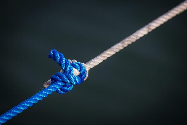 связанные веревки