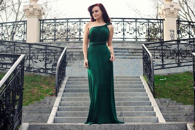 green maxi dress3