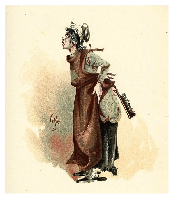 005-La marquesa-Character Sketches from Charles Dickens…1889- J. Clayton Clarke- The Victorian Web