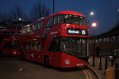Stagecoach London LT408 (LTZ1408) on Route 15, Blackwall