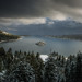 Clearing Winter Storm At Emerald Bay by WJMcIntosh