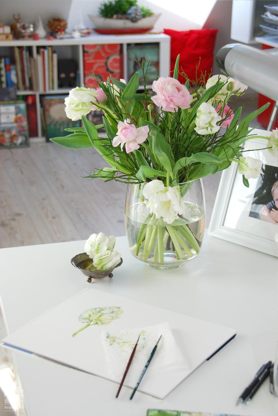 Natalie Ratkovski's studio