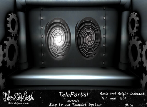 *NW* Black TelePortal