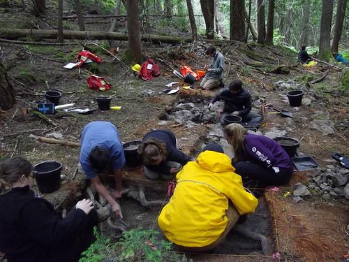 BCAPA Student Members Excavating-Kwantlen