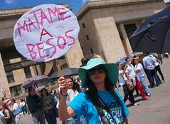 Friedensdemonstration am Internationalen Frauentag in Bogotá. Foto:  Juan Carlos Pachón / flickr (CC BY-SA 2.0)