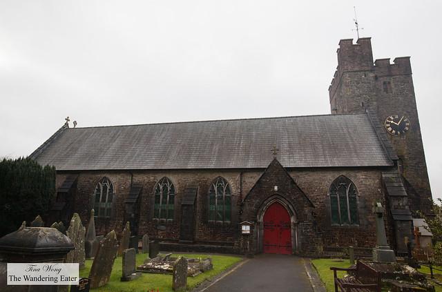 St. Teilo's Church at Croeso, Wales, United Kingdom