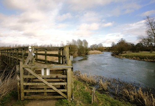 uk england sky english water grass clouds rural canon river countryside britain gates rivers paths riverbank northants nene counties rivernene 2015 swaine