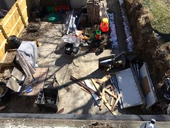 Back porch demo