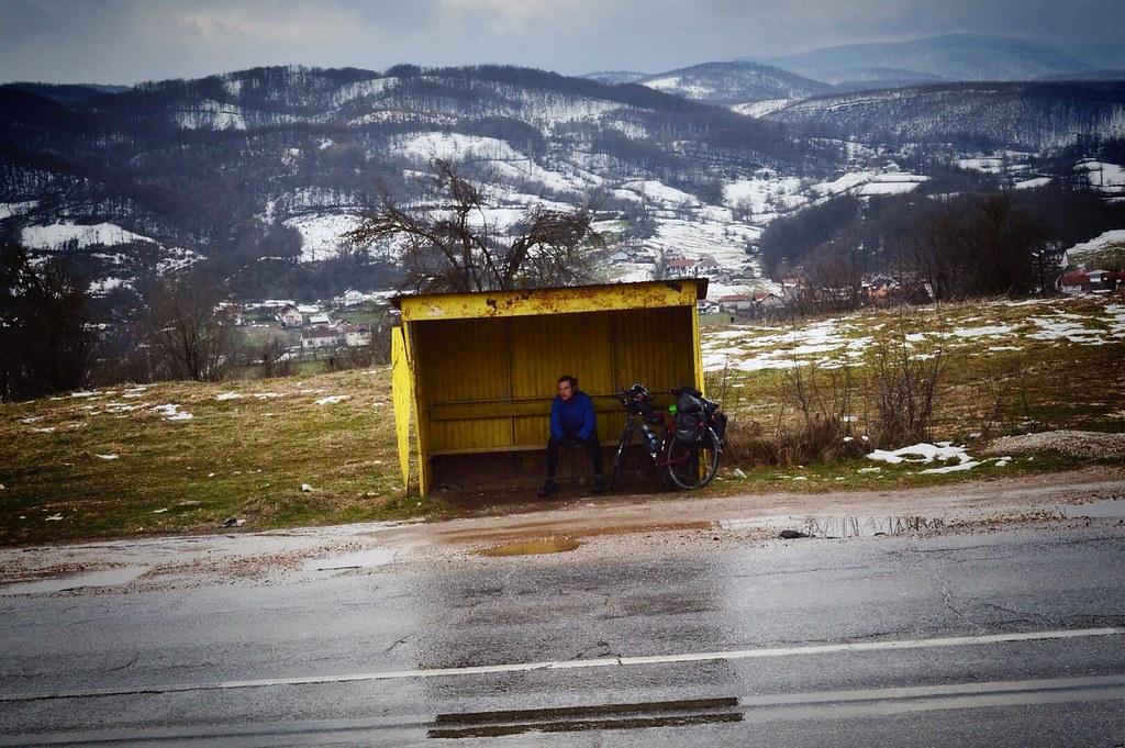 Busstation Kosovo