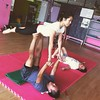 Me as a base - first ever #acroyoga jam! #yoga #Malaysia #fitness #fun