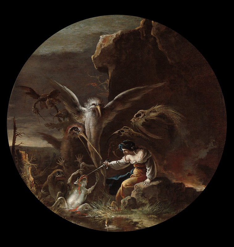 Salvator Rosa - Scene with Witches -  Morning, 1645-1649