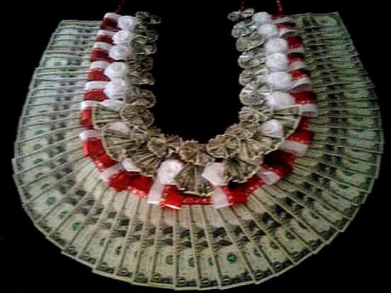 Money Lei .... made for my niece...Lagilagialeaso Galoia ...