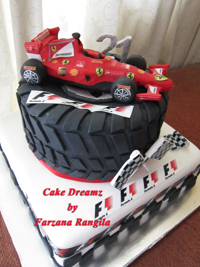 Ferrari Cake