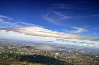 UFO cloud...