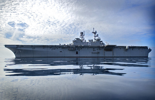 SAN DIEGO (NNS) -- The Navy's newest amphibious assault ship, USS America (LHA 6), completed final contractor trials (FCT).