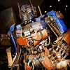 While strollong along the colorful Venice Beach, CA, we stumbled upon some amazing metalwork. Who cant love a good Optimus Prime? #VeniceBeach #OptimusPrime #Transformers