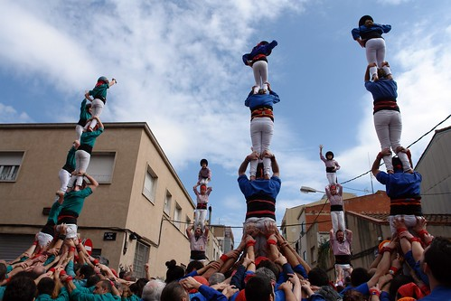 pilars 4 Castellers d'Esplugues