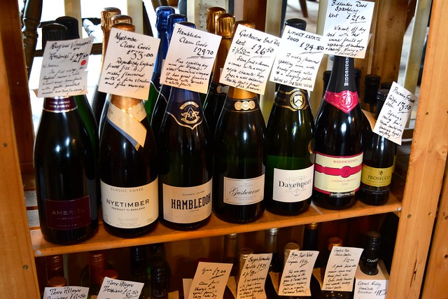 English Sparkling Wines at The Goods Shed, Canterbury