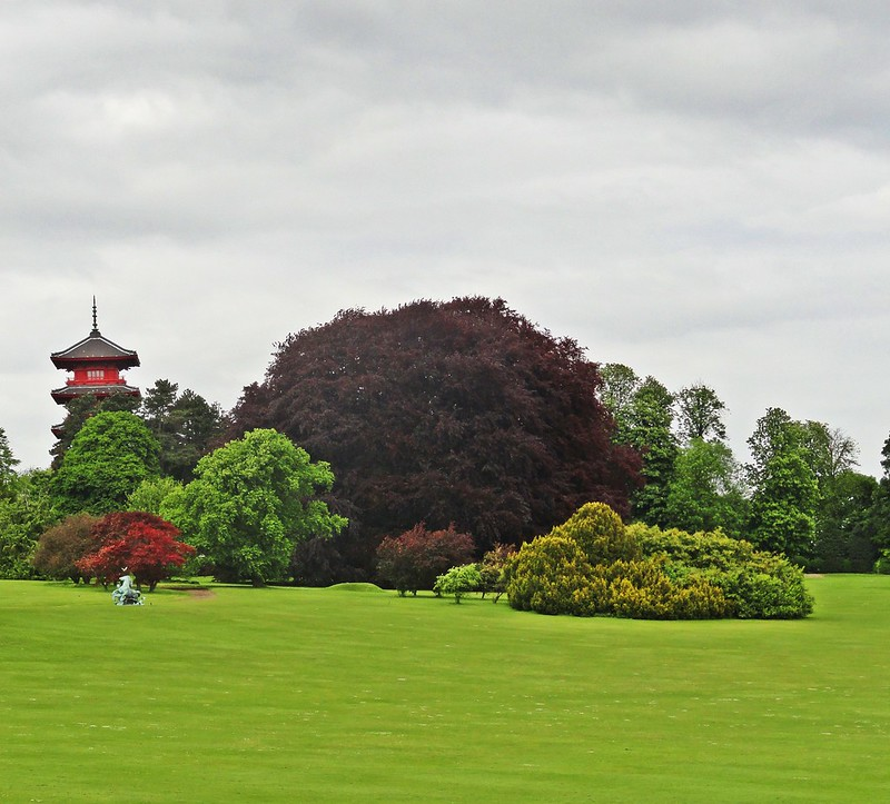 Garden of the Royal Castle of Laeken, Brussels, Belgium