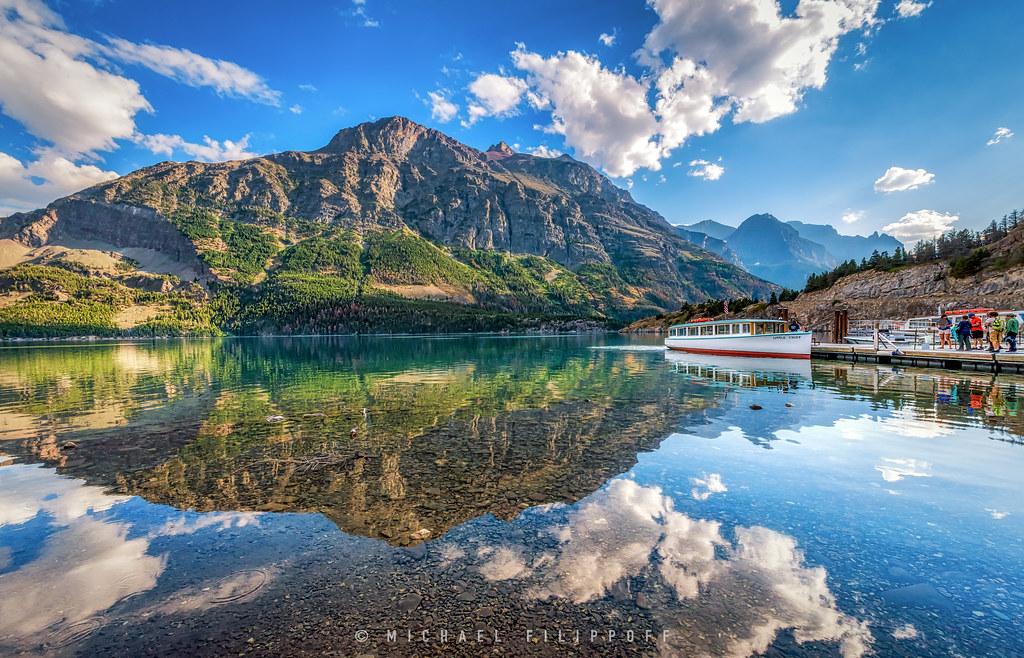 Saint Mary Lake Montana Around Guides