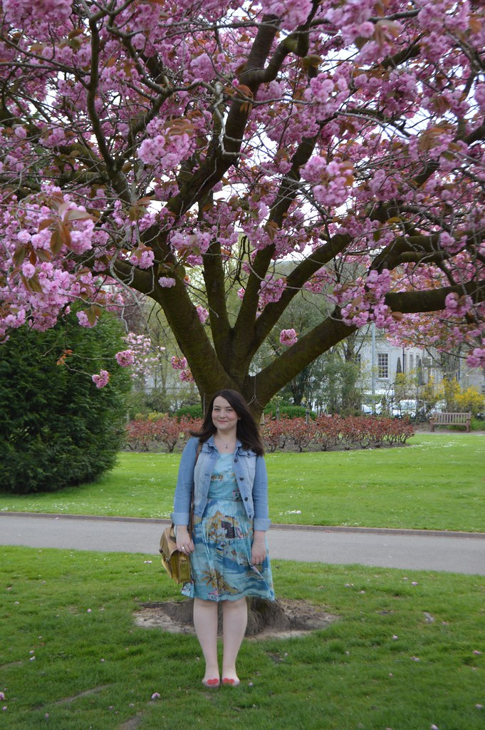 uk blogger outfit post Cathays Park Cardiff Boden