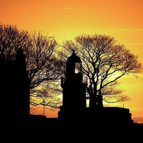 lighthouse scotland highlands cromarty gloaming