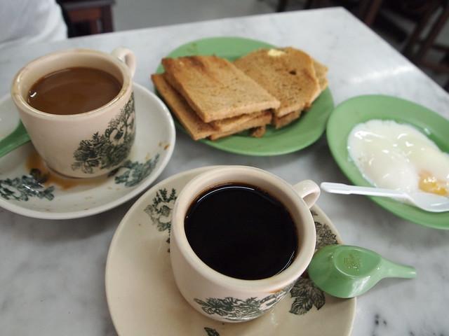 Ya Kun Kaya Toast(ヤ・クン・カヤ・トースト) P4178859