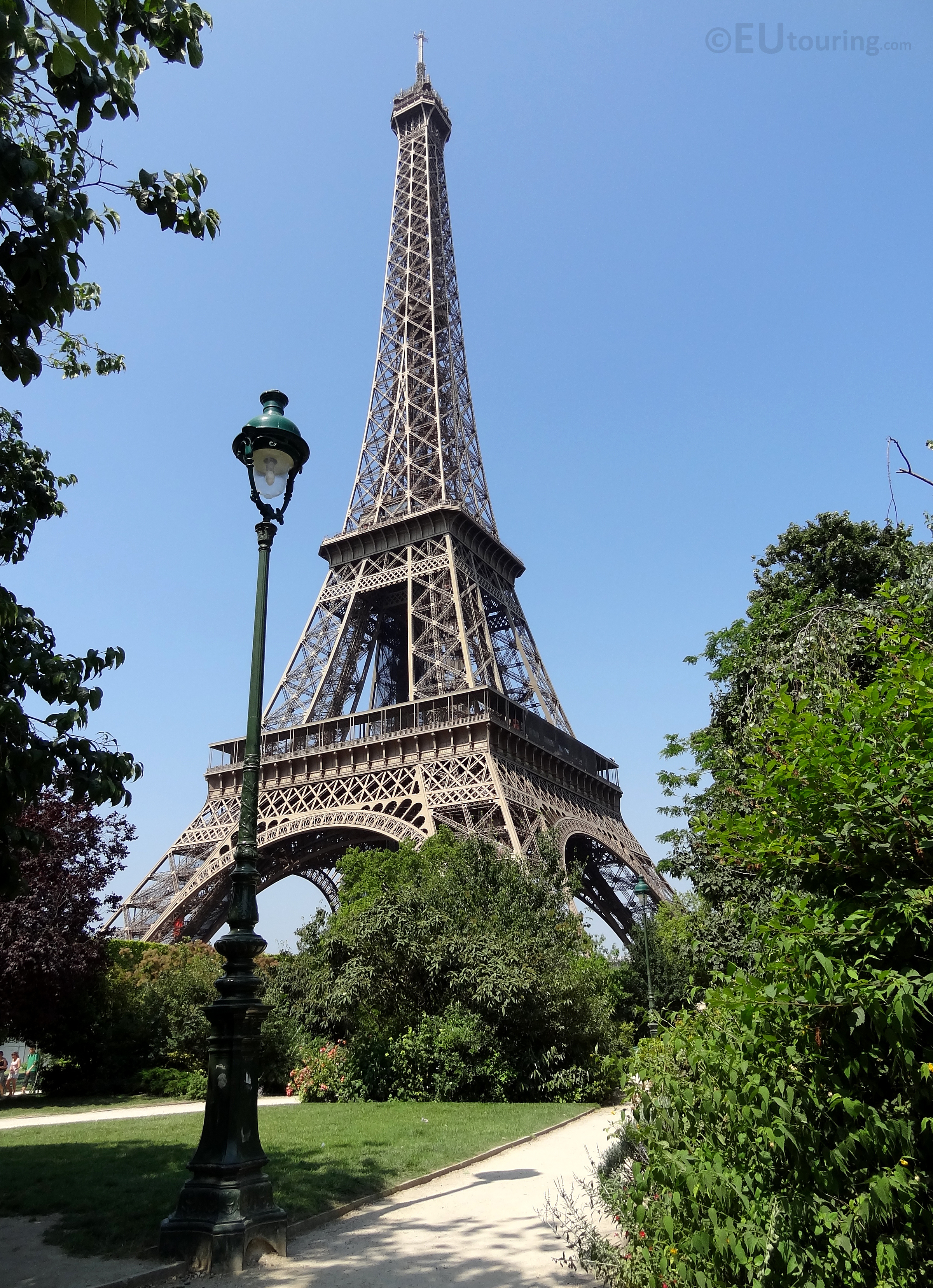 Eiffel Tower from Allee Maurice Baumont