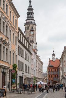 Brüderstraße, Rathausturm, Schönhof