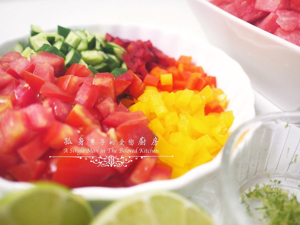 孤身廚房-西班牙西瓜冷湯8