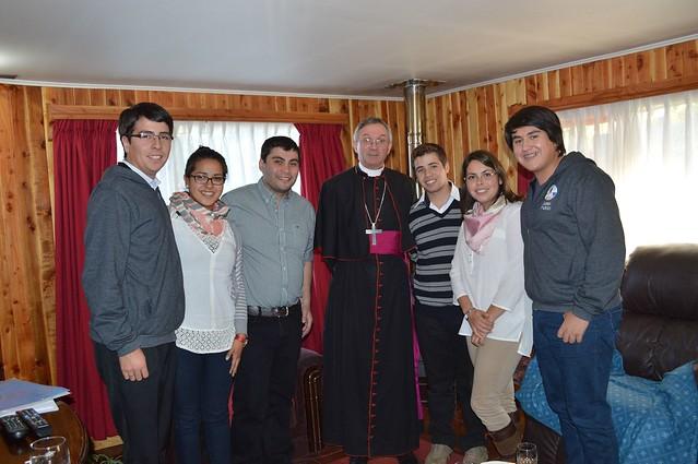 2016 Reunión Comisión Diocesana con monseñor Francisco Javier
