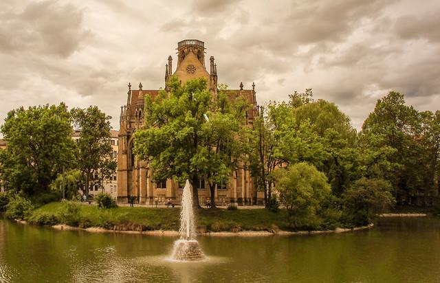 St John's Church, Stuttgart - Germany