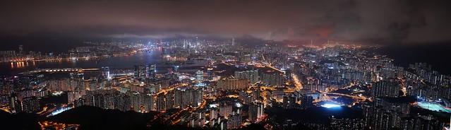 Hong Kong panorama Kowloon Peak/Fei Ngor Shan/飛鵝山