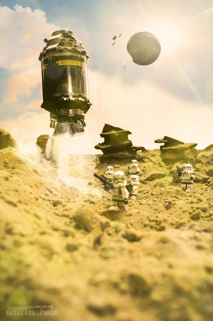 ROGUE ONE ... JEDHA PLANET