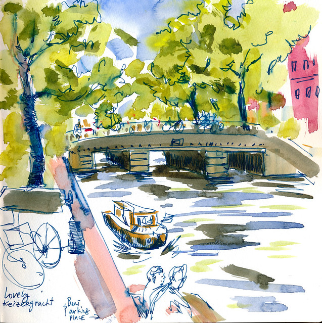 Sketchbook #97: Amsterdam