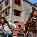 Schoolgirls - Kalaymyo, Myanmar by Maciej Dakowicz