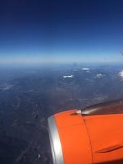 Flight view, Spain 25th April 2016 - Photo of Bélesta