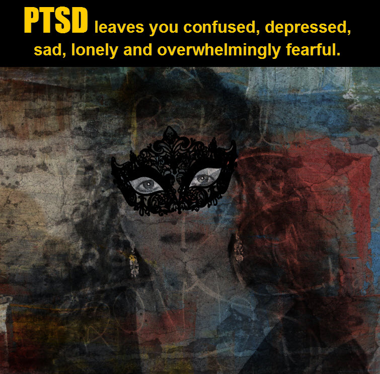 masked redhead Wearing A Mask In The Midst Of PTSD Ignorance 2