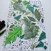 Finished the drawing process, will now work on it digitally to create a new seamless pattern. #fabric #design#surfacepattern #pattern #dailyart #dailydraw #drawing #illustration #leaves #nature #green