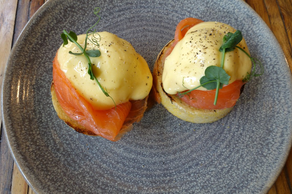 Eggs Benedict, The Jones Family Project, Shoreditch