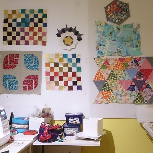 Design board. Too many ideas!