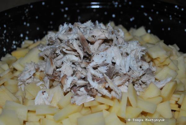 2 - Salema - приготовление блюда из салемы