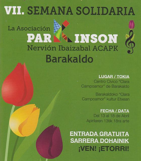 VII Semana Solidaria por el Parkinson. Barakaldo