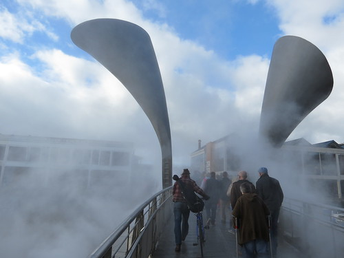 Fog Bridge (Pero's Bridge) by Fujiko Nakaya